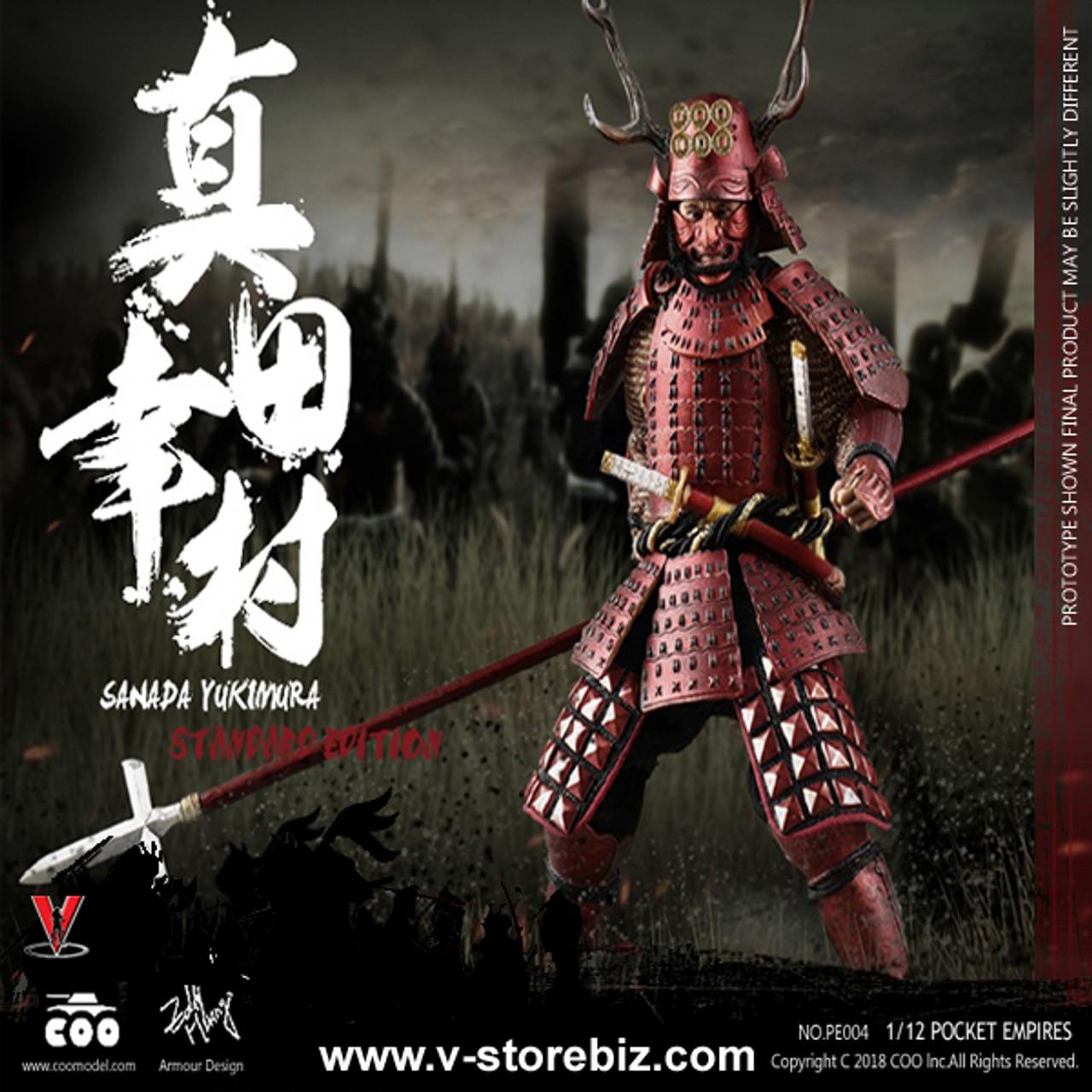 Coo Models Japon Samouraï Sanada Yukimura Metal Body Armour loose 1//6th scale