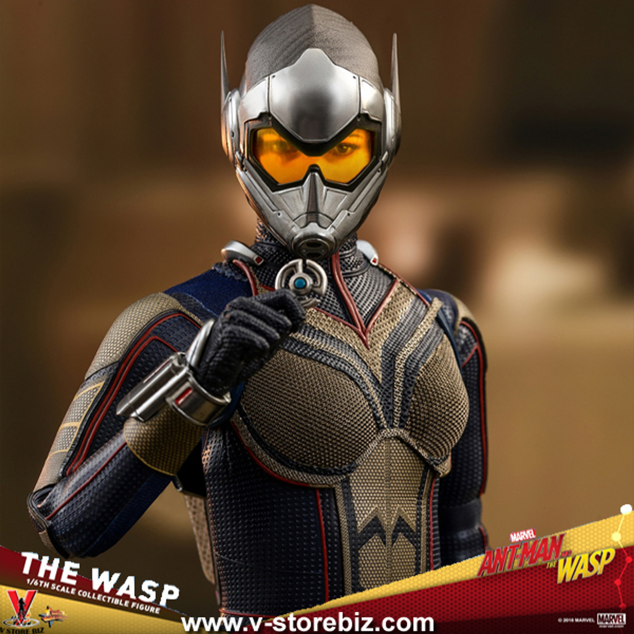 Hot Toys Ant-Man and the Wasp 1//6th scale The Wasp Collectible Figure MMS498