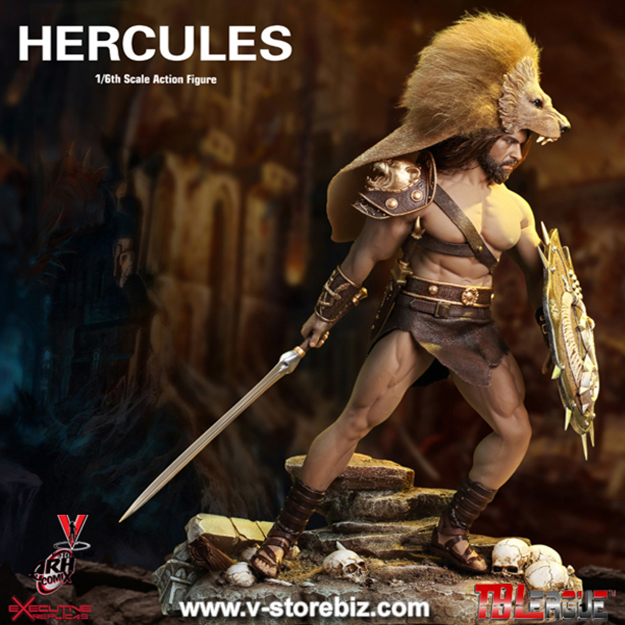 TBLeague 1//6 Male Greek Heroes Son of Zeus Hercules PL2018-115 Action Figure