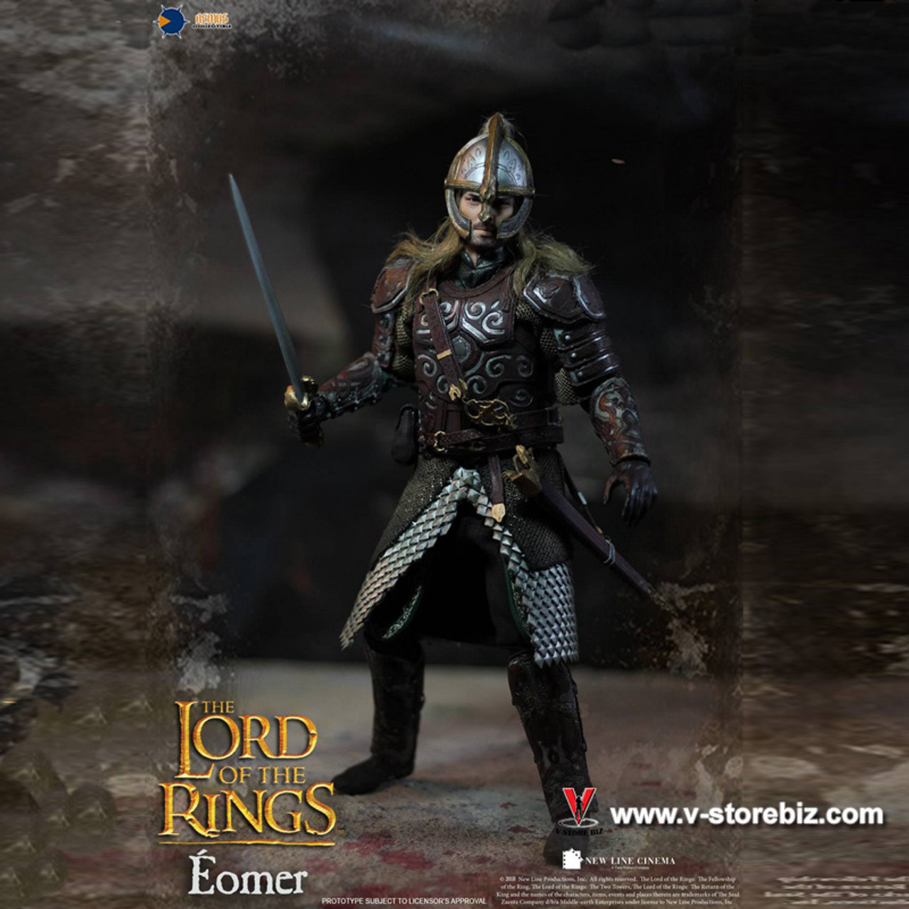 "Asmus Toys LOTR011 1//6 The Lord of the Rings Eomer 12/"" Action Figure Armor Skirt"