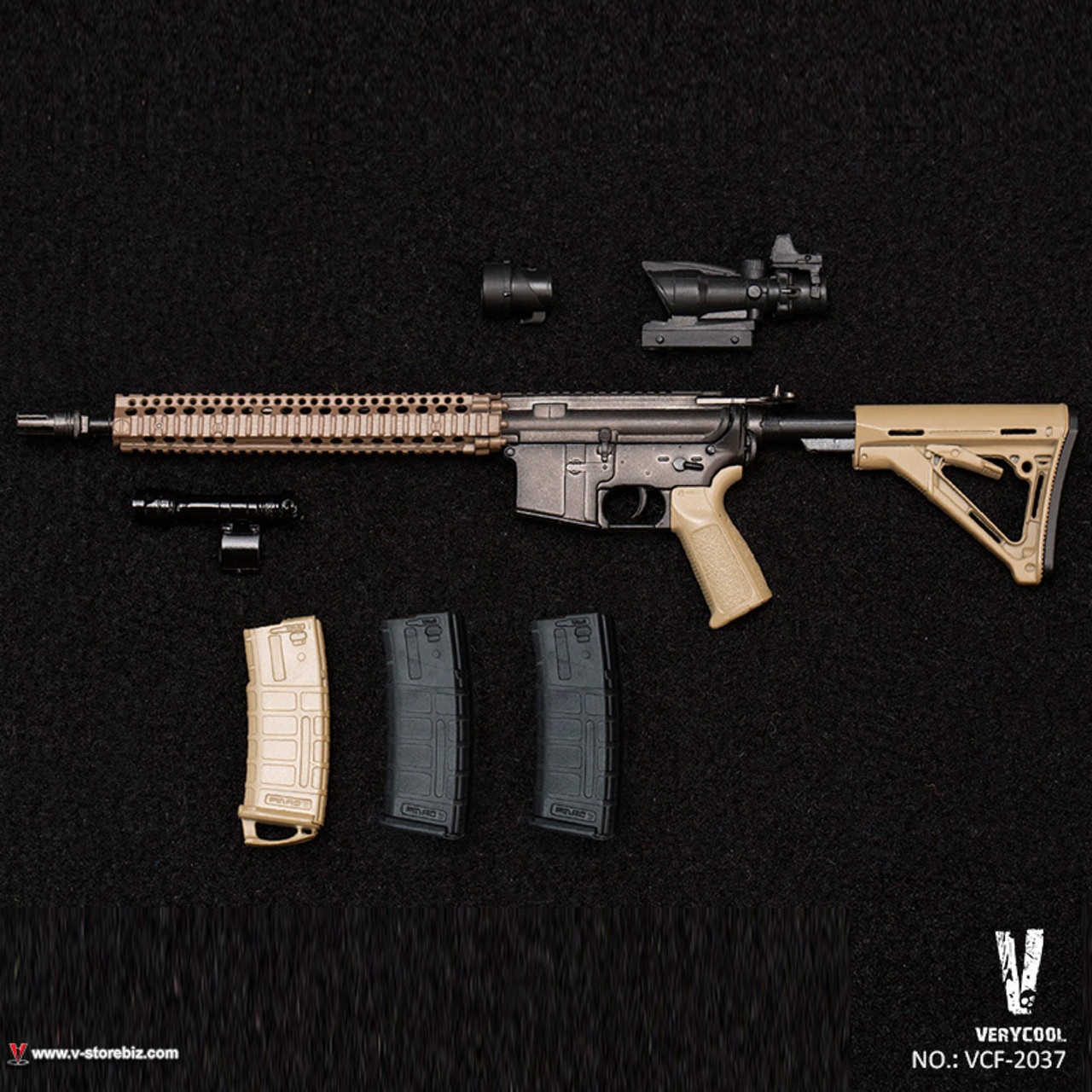 JENNER In-Stock 1//6 Scale VERYCOOL VCF-2037 TACS FG Double Women Soldier