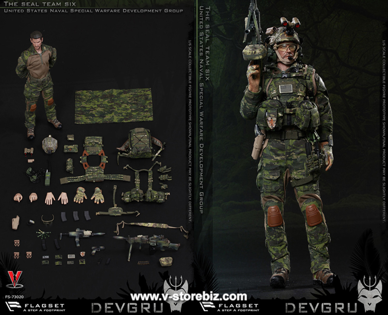 Navy Seal Night Ops-Palmes 1//6 Scale 21 Toys