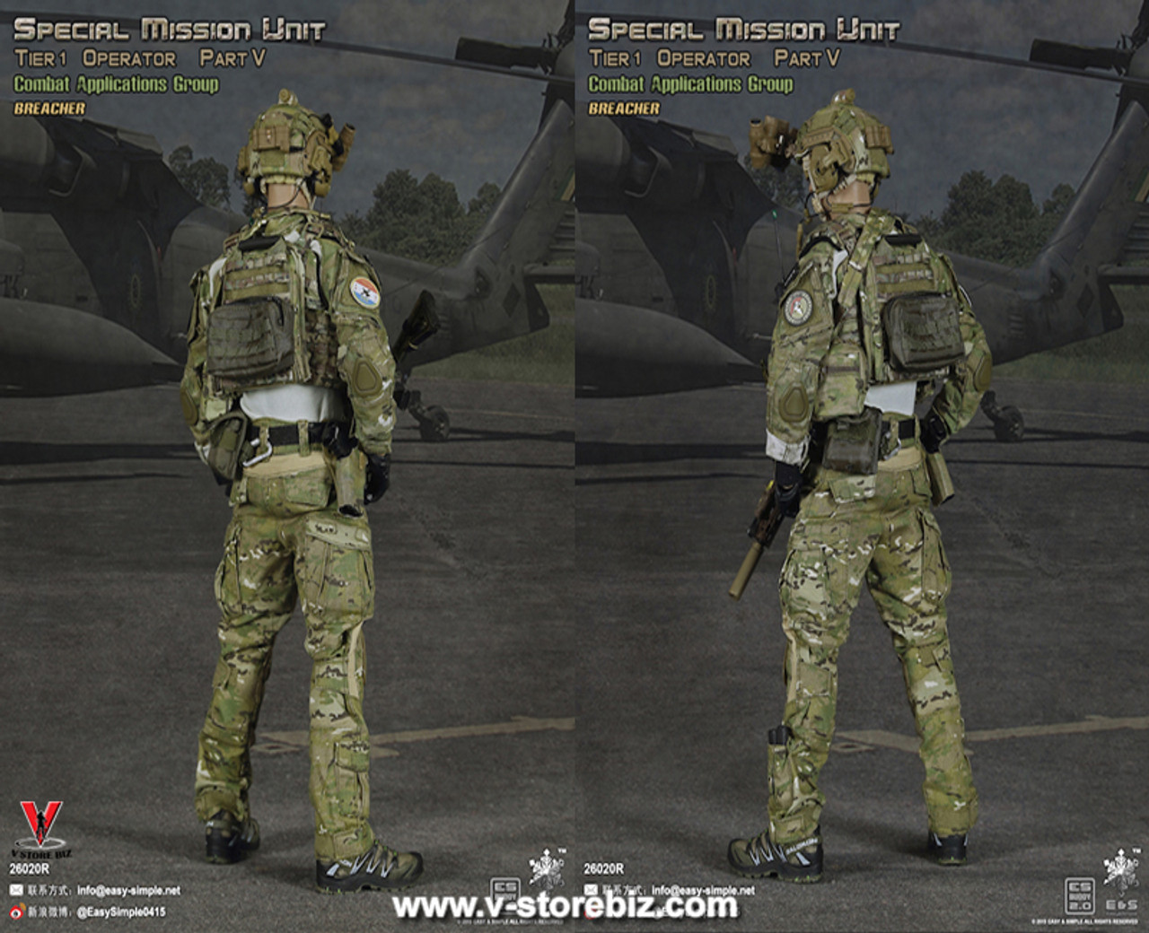 Boots for ES 26020S Tier 1 SMU Part V Assault Team Sharpshooter 1//6 Scale New