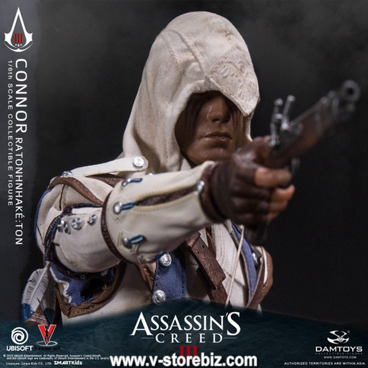 Damtoys Dms010 Assassin S Creed Iii Connor V Store Collectibles