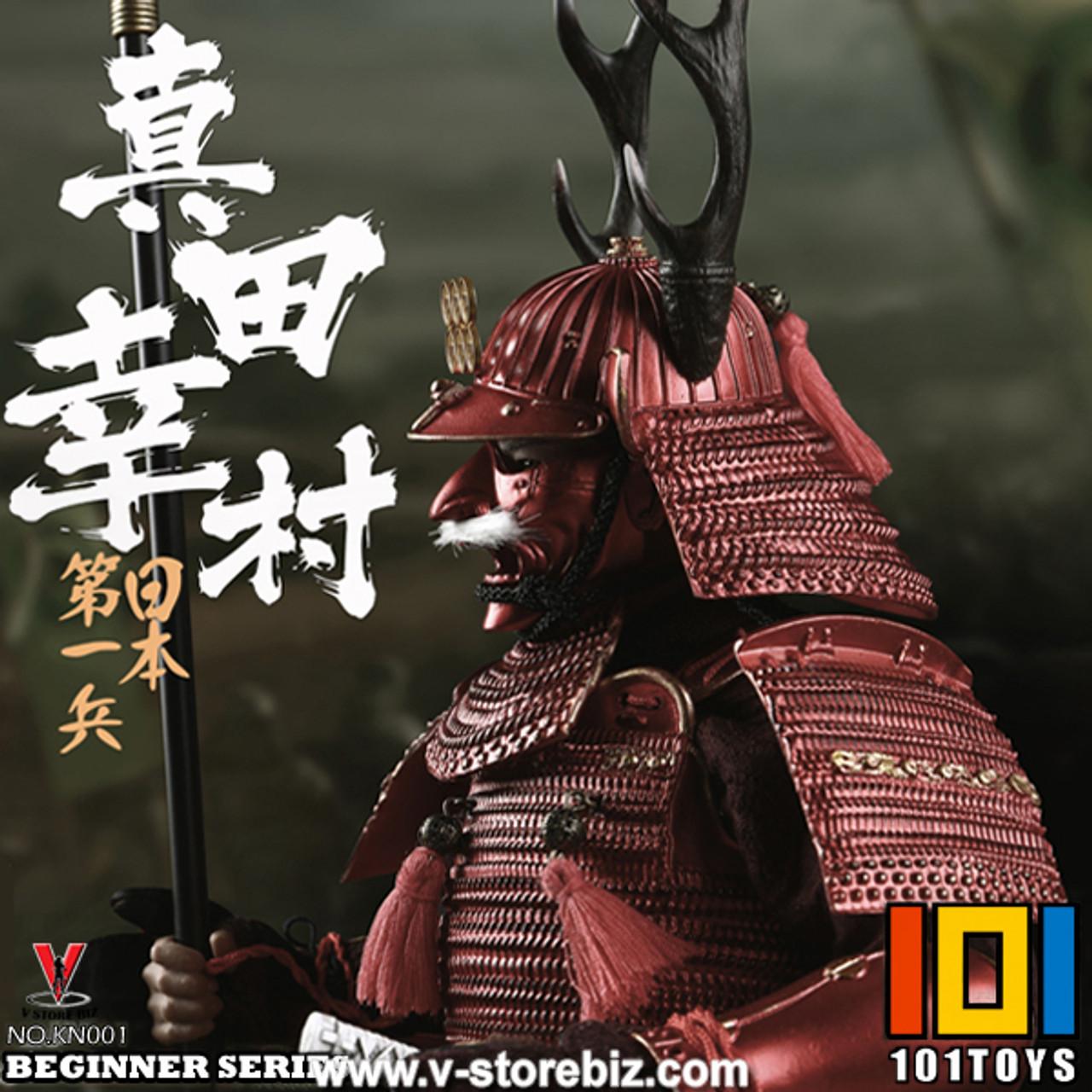 101TOYS Beginner Series The NO.1 Japanese Soldier SANADA YUKIMURA Head Sculpt