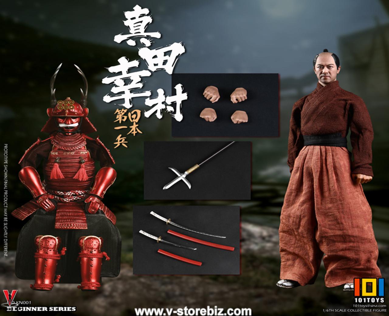 Long Samurai Sword #2-1//6 Scale 101 Toys Figure Japan/'s First Soldier Sanada
