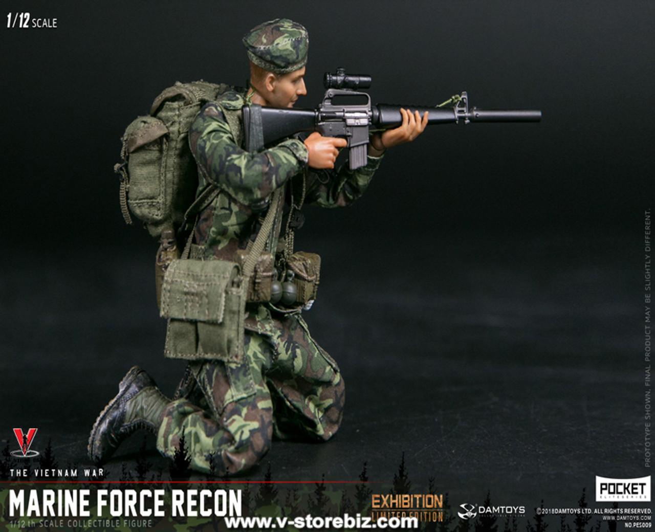 "78051 DAM Toy 1:6 Scale 12/"" Naval Mountain Warfare forces spéciales Figure"