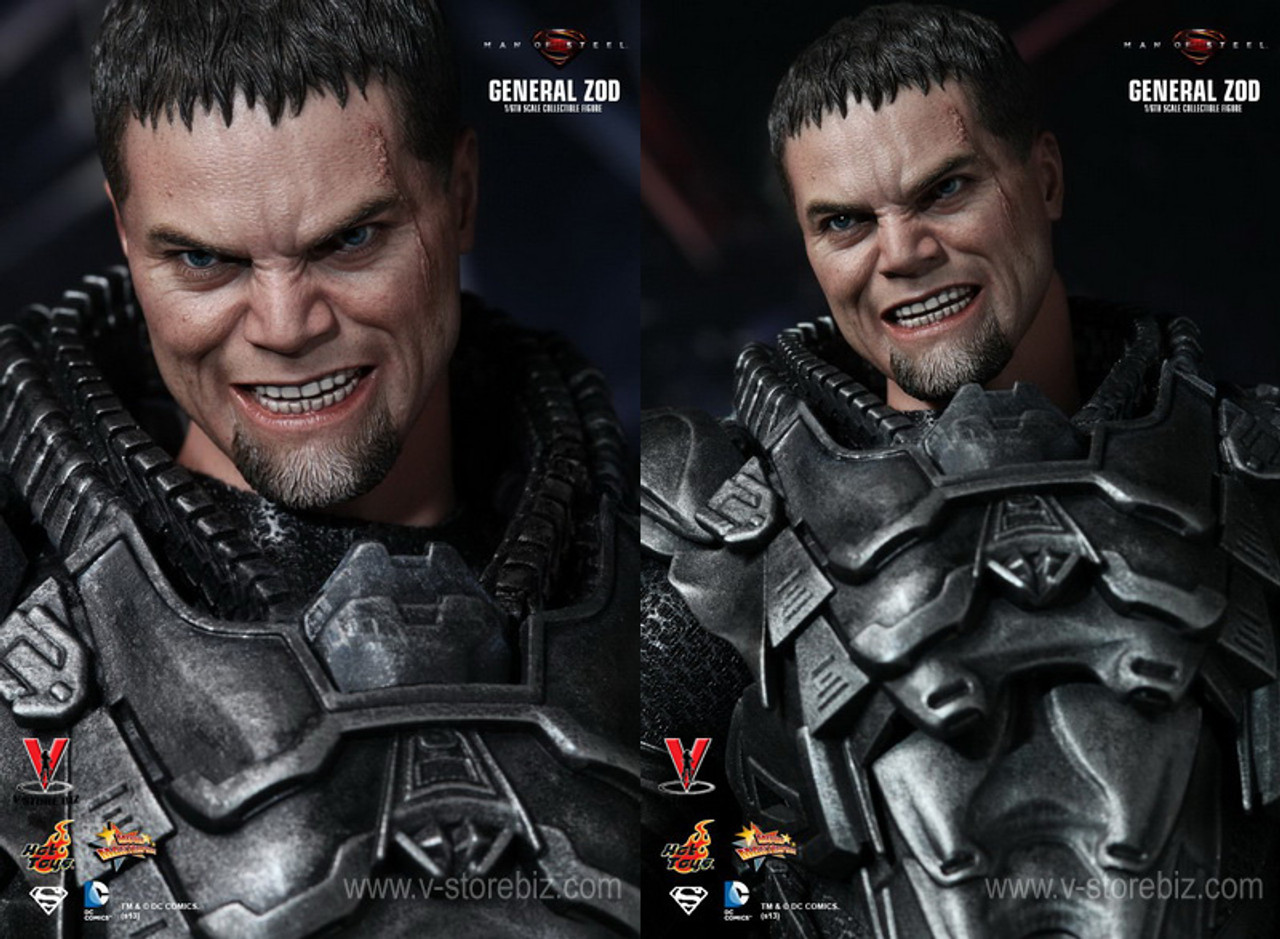 1//6 Scale Hot Toys MMS216 Man of Steel General Zod head sculpt