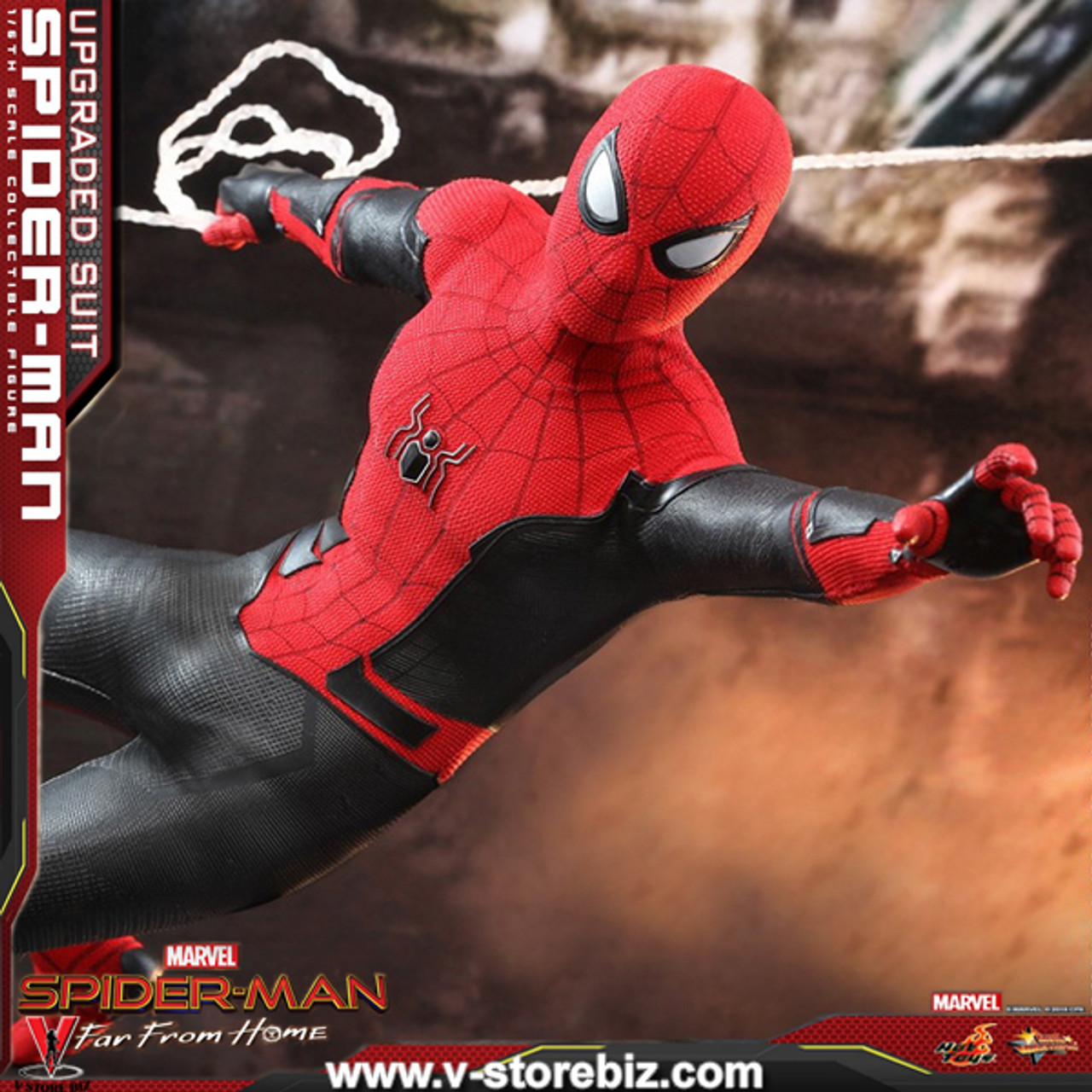 Hot Toys Mms542 Spiderman Far From Home Spiderman Upgraded Suit V Store Collectibles