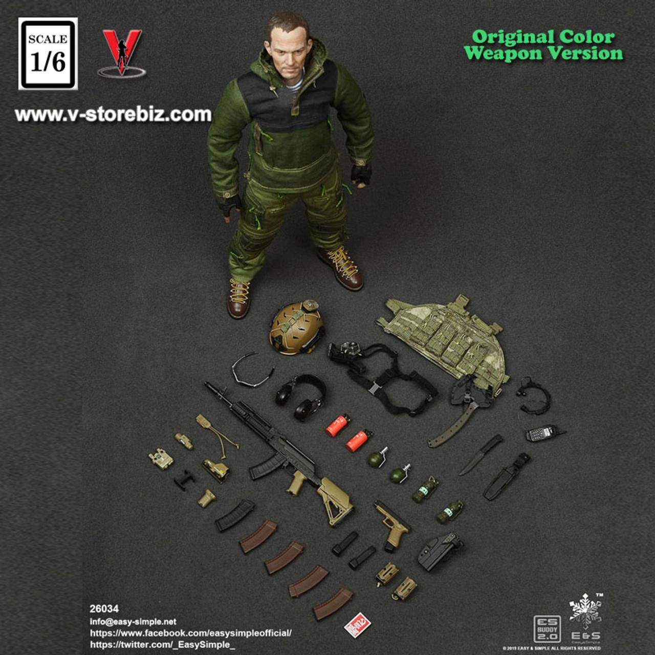 Y97-59 1//6 scale ES 26035S SCO19 CTSFO G3 Custom Combat Uniform