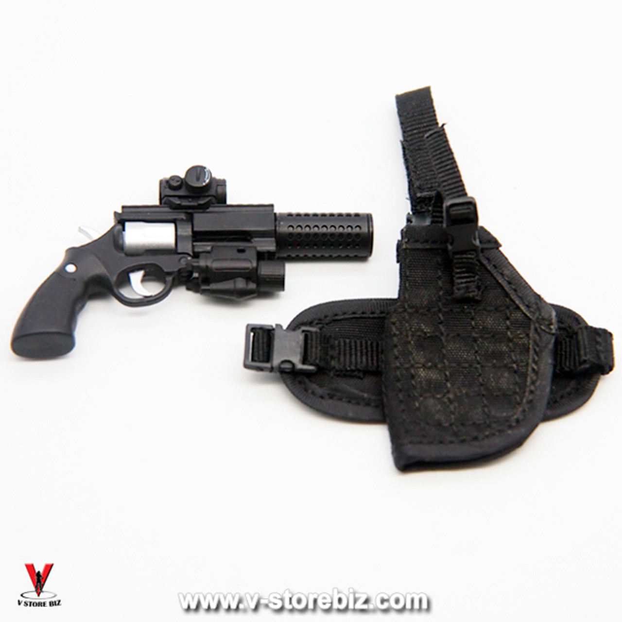 1//6 scale One Pair of Leg Holsters w// Pistols for 12/'/' Female Figure Accessory