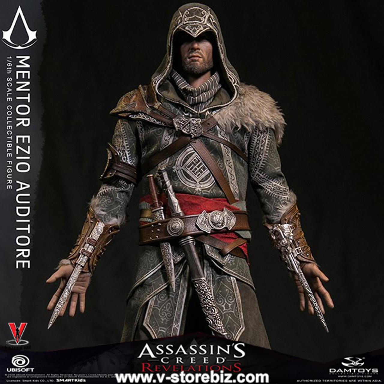 Dam Dms014 Assassin S Creed Revelations Mentor Ezio Auditore V