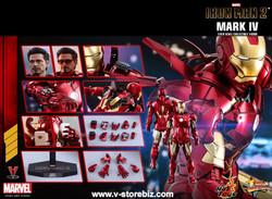 Hot Toys MMS461D21 Iron Man 2 Mark IV (Diecast Figure)