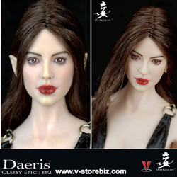 Wondery EP02 Daeris Female Headsculpt