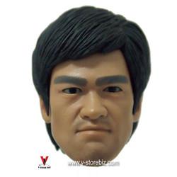 Bruce Lee Head Sculpt w/ Eye Rotation Type 2