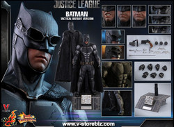 Hot Toys MMS432 Justice League  Batman (Tactical Batsuit Version)