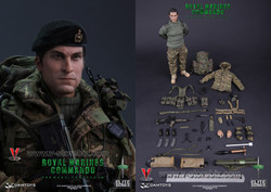 DAM 78023 British Royal Marines Commandos