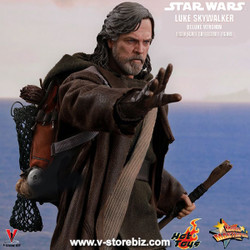 Hot Toys MMS458 Star Wars : The Last Jedi Luke Skywalker (Deluxe)