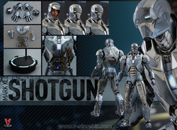 Hot Toys MMS309 Iron Man 3 Mk XL Shotgun