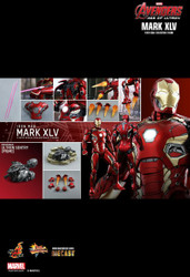Hot Toys MMS300D11 AGE OF ULTRON IRON MAN MARK XLV