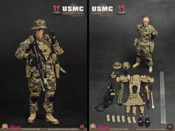 Soldier Story SS063 USMC Francis X.  Hummel (STGCC 2012 Exclusive)
