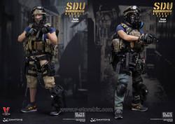 DAMTOYS 78034 SDU Special Duties Unit Assault Team Leader