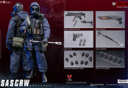 DAMTOYS 1/12 POCKET ELITE SAS CRW Assaulter & Breacher Set