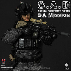 Easy & Simple 26012 SAD Special Operation Group Da Mission