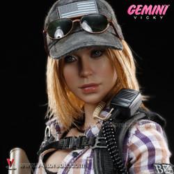 DAM DCG002 COMBAT GIRL series Gemini Vicky