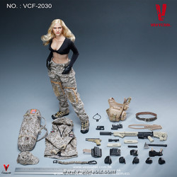 """VERYCOOL VCF2030 Digital Camouflage Female Soldier """"Max"""""""