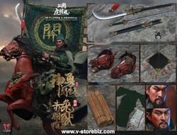 INFLAMES x NEWSOUL IFT-032 Soul Of Tiger Generals Guan Yunchang & Chitu The Horse