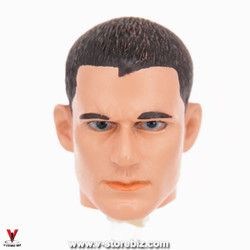 Custom Male Crew Cut Headsculpt
