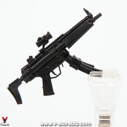4D Model MP5 Submachine Gun (Black)