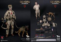 DAM 78040 Navy SEAL DEVGRU K9 Handler in Afghanistan