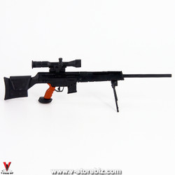 4D Model PSG-1 Sniper Rifle