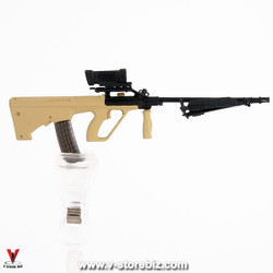 Armoury Steyr AUG HBAR-T Rifle w/ Bipod & Elcan Sight (Sand)