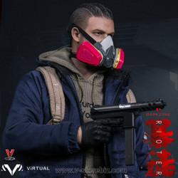 VTS VM-022 The Darkzone Rioter TEC-9 Submachine Gun - V