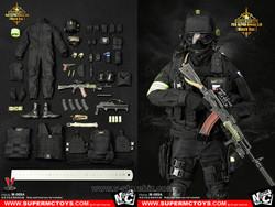 SuperMCToys Russian Spetsnaz FSB Alpha Group 3 (Black Ver.)