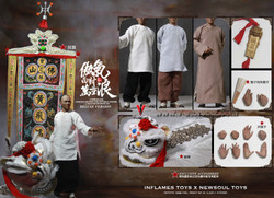 INFLAMES TOYS  IFT023  A Master Of Kung Fu Deluxe Version