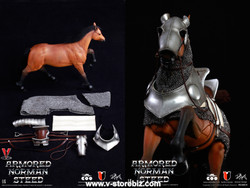 Coomodel SE014 Series of Empires Armored Norman Steed Horse