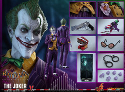 Hot Toys VGM027 Batman : Arkham Asylum The Joker