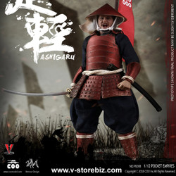 Coomodel PE008 1/12 Palm Empires Red Armor Ashigaru