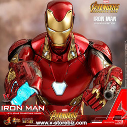 Hot Toys MMS473D23 Avengers: Infinity War Iron Man