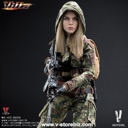 Very Cool VCF-2035B Jungle Python Stripe Camouflage Villa