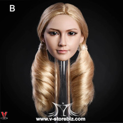 YMToys YMT10B Female Blonde-haired Headsculpt