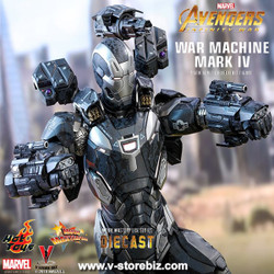 Hot Toys MMS499D26 Avengers: Infinity War War Machine Mark IV