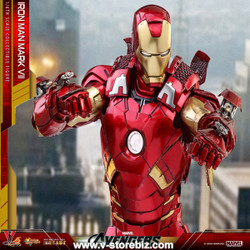 Hot Toys MMS256D07 - Iron Man Mark III Diecast - V Store