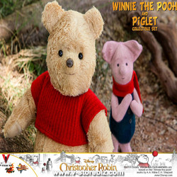 Hot Toys MMS503 Christopher Robin Winnie the Pooh & Piglet