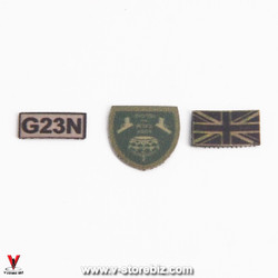 Green Wolf Gear SAS CRW Assaulter Patches