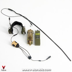 Green Wolf Gear SAS CRW Assaulter Radio, Headset & Pouch